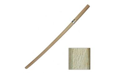 Bokken supérieur, sabre en bois, 102 cm - Chêne Blanc JAPON