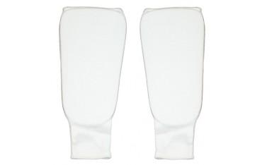 Protège Tibias multi-disciplines, mousse enveloppe tissu