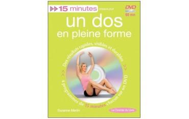 15 minutes, un dos en pleine forme (dvd inclus) - Suzanne Martin