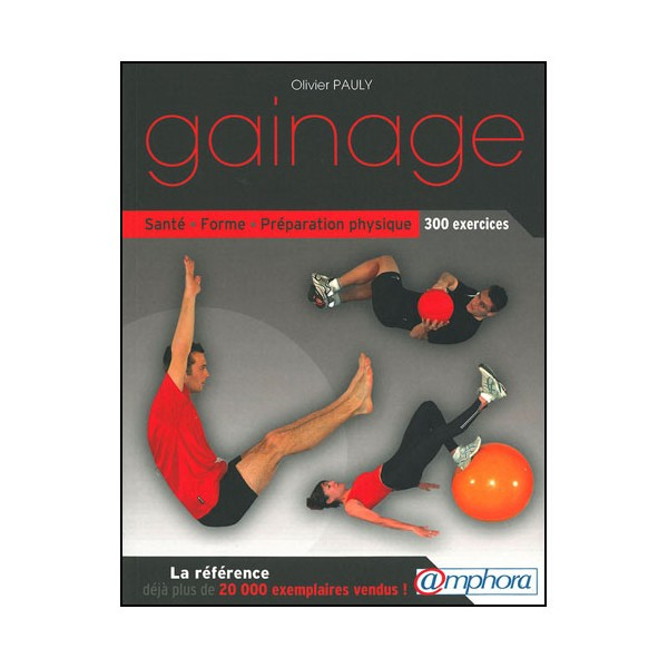 Gainage (300 exercices) - Pauly