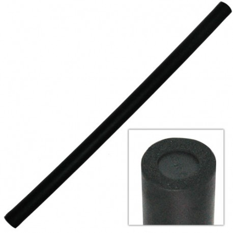 Bâton d'escrime philippine, 66 cm - PVC + mousse - NOIR (l'unité)