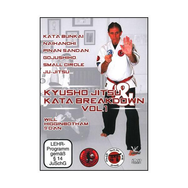 Kyusho Jitsu Kata breakdown Vol.1 - Higginbotham (Anglais)