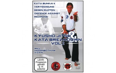 Kyusho Jitsu Kata breakdown Vol.2 - Higginbotham (Anglais)