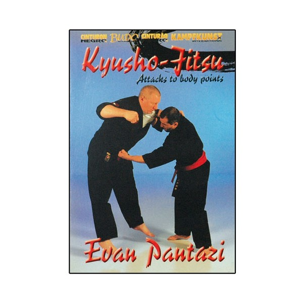 Kyusho Jitsu Vol.4, points vitaux du corps - Evan Pantazi