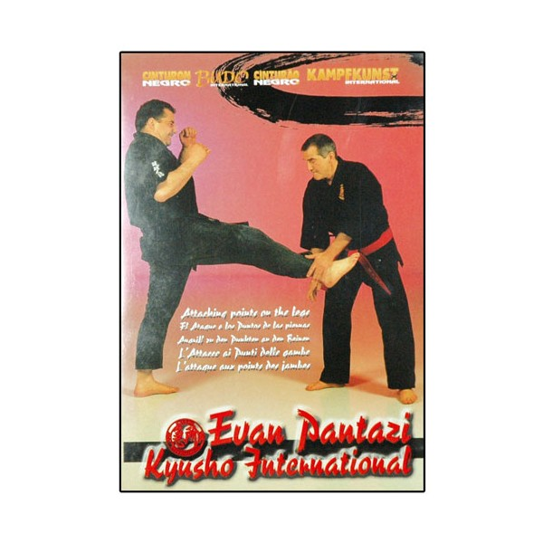 Kyusho Jitsu Vol.5, points vitaux des jambes - Evan Pantazi