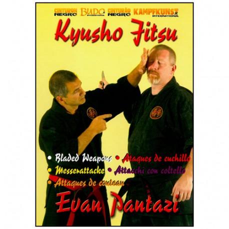 Kyusho Jitsu Vol.9, attaques de couteau - Evan Pantazi