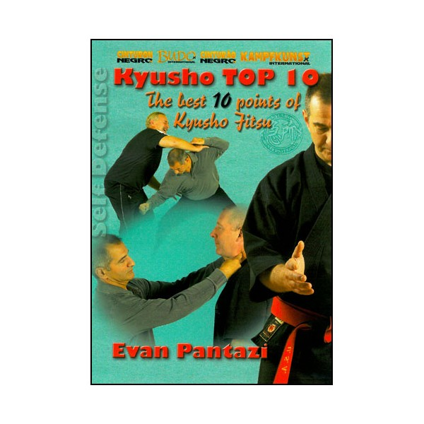 Kyusho Top 10 (the best points of kyuso jitsu)  - Evan Pantazi