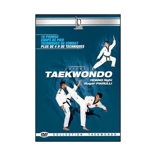 Coffret Taekwondo (dvd.30- dvd.65)