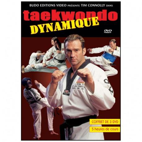 Taekwondo dynamique (coffret 3 DVD) - Connolly
