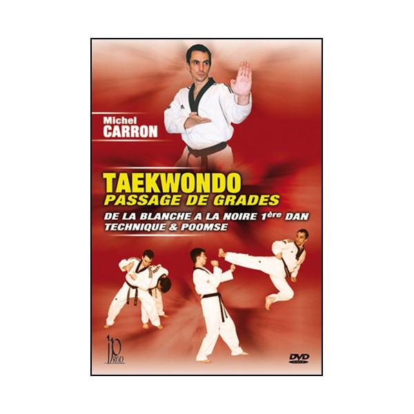 Taekwondo, passage de grades - Michel Carron