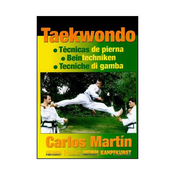 Taekwondo, tecnicas de pierna - Carlos Martin (esp/all)