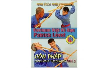 Vovinam Viet Vo Dao, côn phap Long Staff Tech Vol.1 - P. Levet