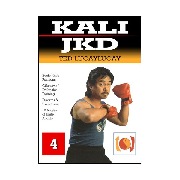 Kali JKD, Basic Knife Positions Vol.4 - Ted Lucaylucay