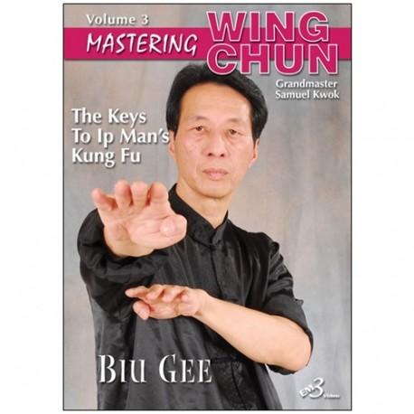 Mastering Wing chun-ip man' kung fu vol.3 : biu gee - S Kwok (angl)