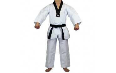 Tenue Taekwondo col noir