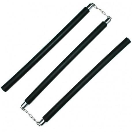 Bâton 3 sections PVC MOUSSE 60cm x 3 - Chaîne à rotule