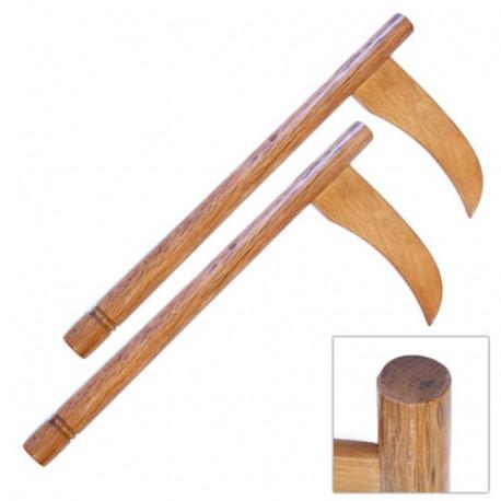 KAMA en bois - Chêne rouge - La paire