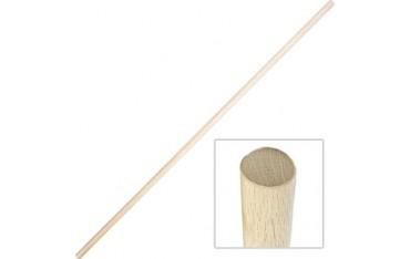 BO, bâton 180 cm (diam. 3 cm) - Chêne Blanc JAPON