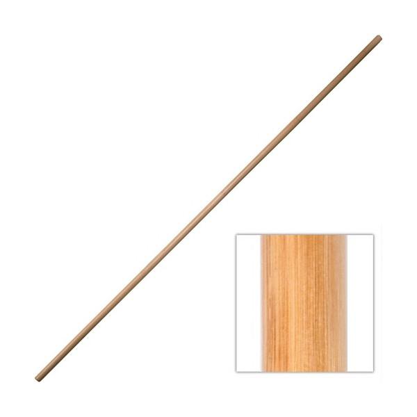 BO, bâton 180 cm (diam. 2.5 cm à 3cm) - Rotin sans écorce