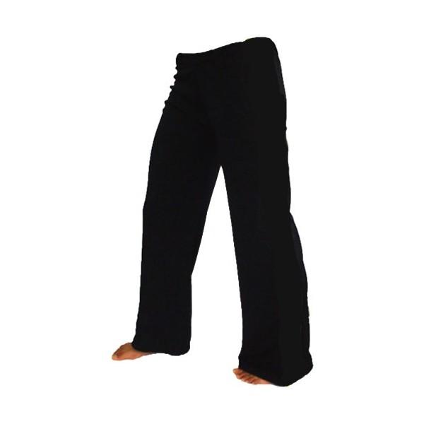 Pantalon Capoeira polyester, taille S - NOIR