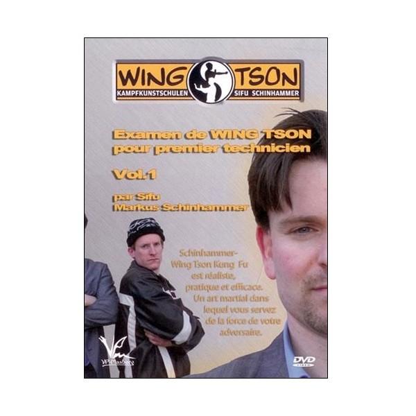 Wing Tson 1 & 2 section Chi Sao - Sifu Markus Schinhammer