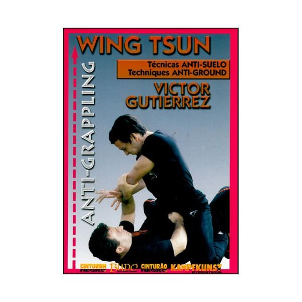 Wing Tsun, Techniques anti-contrôle au sol - Victor Gutierrez