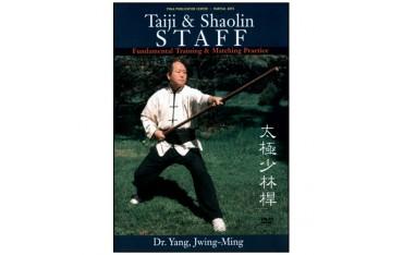 Taiji & Shaolin Staff, fundamental & matching (angl)- Yang Jwing-Ming