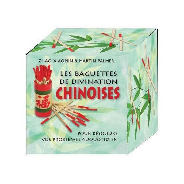 Baguettes chinoises de divination (coffret cube) -  Xiaomin/Palmer