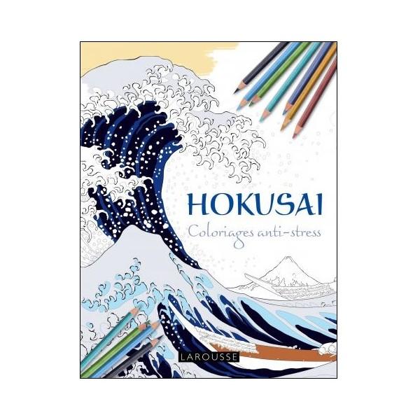 Hokusai Coloriages anti-stress