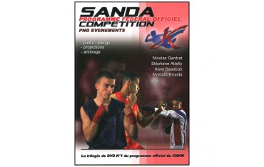 Sanda programme officiel : pieds, poings, projections, arbitrage