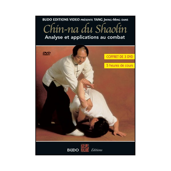 Chin-Na du Shaolin, analyse & applications au combat (coffret 3 DVD)