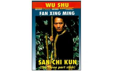 Wu Shu, San Chi Kun (bâton 3 sections) - Fan Xing Ming
