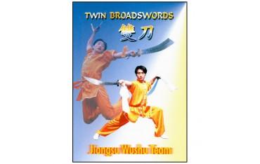 Wushu Twin Broadswords