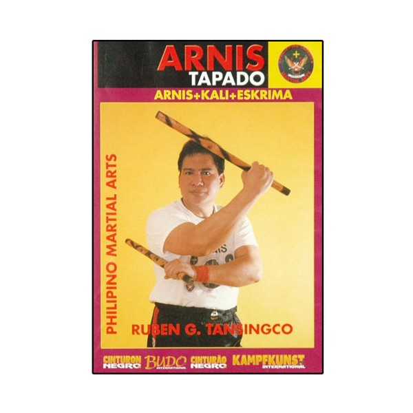 Arnis Tapado, double bâton - Ruben G. Tansingco