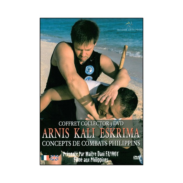 Coffret 3 DVD : Arnis Kali Eskrima