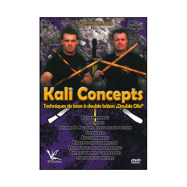 Kali concepts Vol.2 tech de base à double bâton - Höle