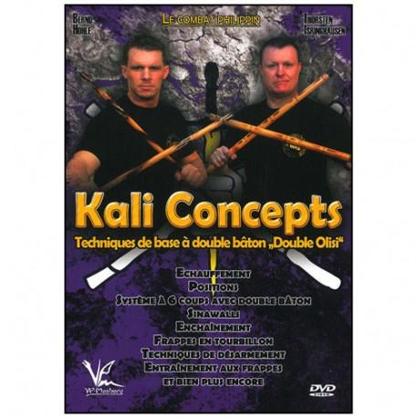 Kali concepts Vol.2 tech de base à double bâton - Höle