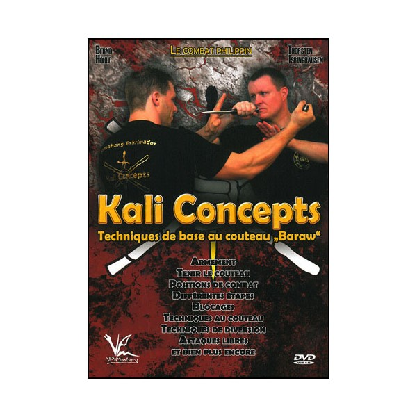 Kali concepts Vol.3 tech de base au couteau Baraw - Höle