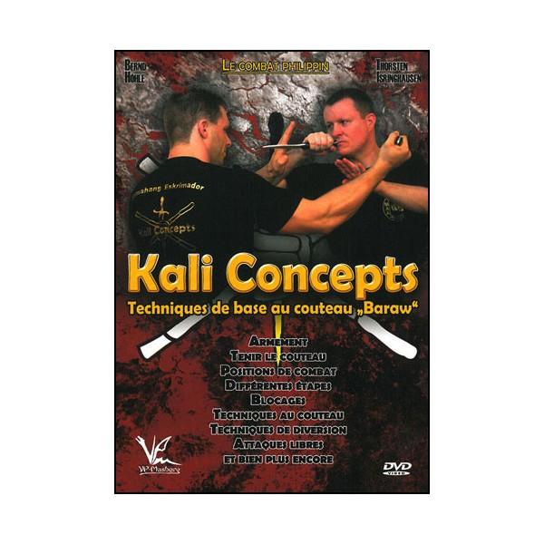 Kali concepts Vol.3 tech de base au couteau Baraw - Höle