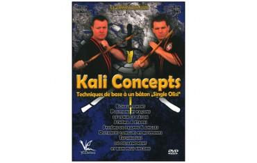 Kali concepts, techniques de base à un bâton