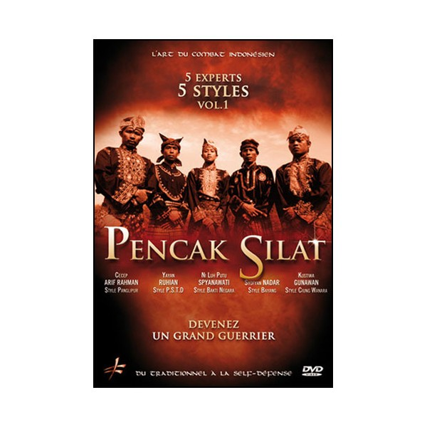 Pencak Silat 5 experts, 5 styles Vol.1
