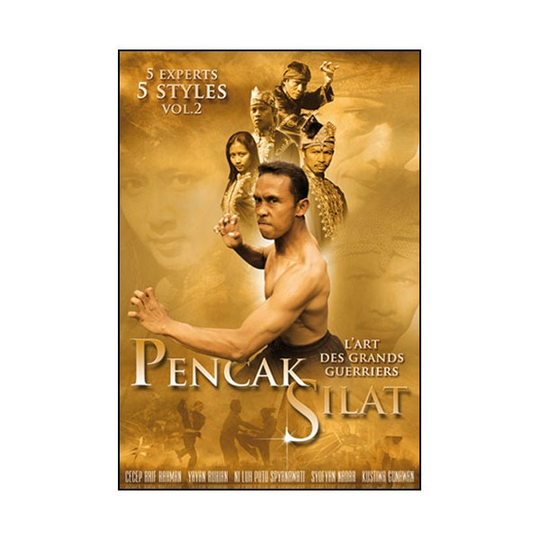 Pencak Silat 5 experts, 5 styles Vol.2