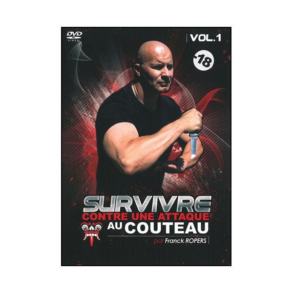 Survivre contre une attaque au couteau Vol.1 - Franck Ropers
