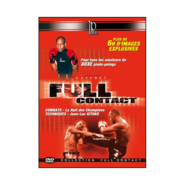 Coffret Full-Contact (dvd.112- dvd.113- dvd.123- dvd.124)