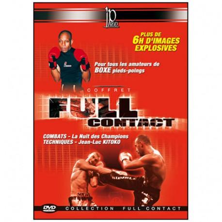 Coffret Full-Contact (dvd.112- dvd.113- dvd.123- dvd.124)
