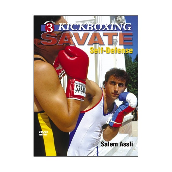Kickboxing Savate vol.3 : self-defense - Salem Assli (angl)
