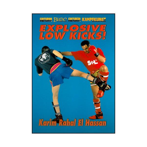 Explosive Low Kicks - Karim Rahal El Hassan