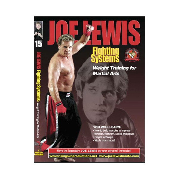 Joe Lewis, Weight Training for Martial Arts - J Lewis