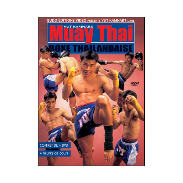 Muay Thai, Coffret de 4 DVD