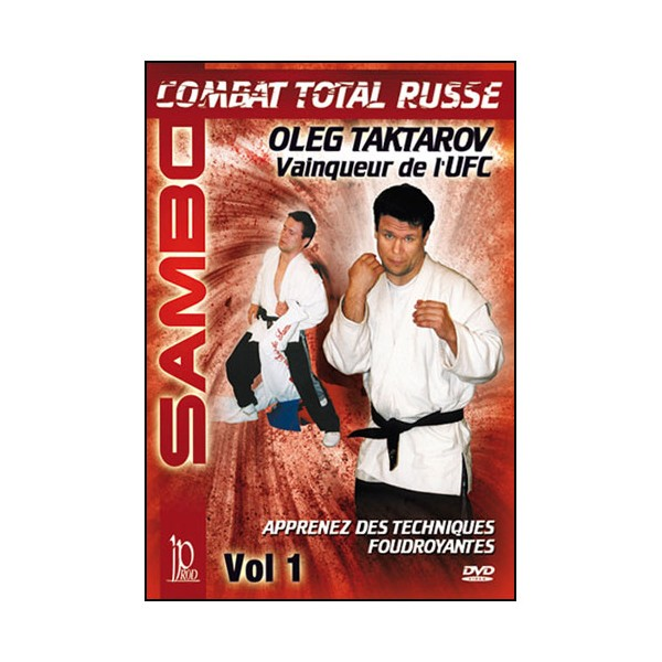 Sambo vol.1, combat Total Russe - Oleg Taktarov